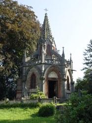 Le mausolée d'Oultremont à Houtaing