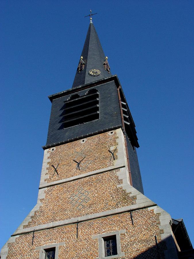 Le clocher de l'église Saint-Martin